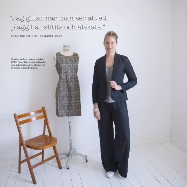 2e6f9495aabf Linnekläder och kläder i naturmaterial för kvinnor. Svensk design online,  kandus.se